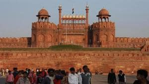 Dalmia Bharat recently signed a Memorandum of Understanding (MoU) with the ministry of culture for the upkeep of Red Fort .(Virendra Singh Gosain /HT Archive)