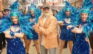Amitabh Bachchan plays a 102-year-old dad in the upcoming film 102 Not Out.