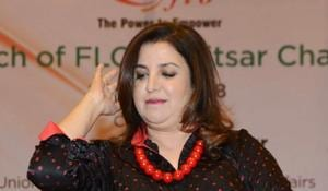 Farah Khan, who is choreographing Snam Kapoor's sangeet, has fractured her leg.(AFP)
