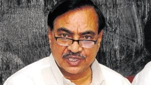 Following the allegations, Khadse had quit the Devendra Fadnavis ministry in June 2016.(HT FILE PHOTO)