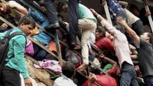 23 people were killed in the stampede at Elphinstone Road station.