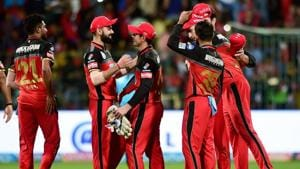 Royal Challengers Bangalore bowlers will be looking to curtail Chennai Super Kings batsmen in their IPL 2018 clash on Saturday.(PTI)