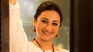 Actor Divya Dutta won the award for Best Actress in Supporting Role for the film Irada.(Sarang Gupta/ HT Photo)