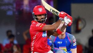 Kings XI Punjab batsman Lokesh Rahul guided them to victory over Rajasthan Royals at the Holkar Cricket Stadium in Indore on Sunday.(PTI)