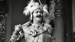 Mohan Babu will appear as yesteryear star SV Ranga Rao, who worked with late actor Savitri in a number of films.(VyjayanthiFilms/Twitter)