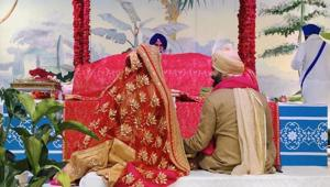 Sonam Kapoor and Anand Ahuja got married at the perfect wedding venue.(Instagram/Janhvi Kapoor)