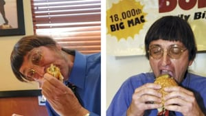 Don Gorske made news in October when Guinness Book of World Records representatives recorded him eating his 29,482 nd Big Mac.(AP File Photo)
