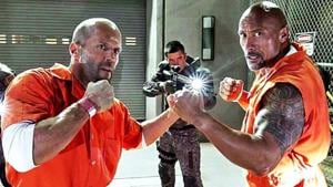 Jason Statham and Dwayne Johnson's characters began as foes in Furious 7, but developed a camaraderie in the next film.