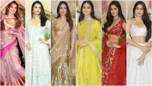 You won't forget these looks from Sonam Kapoor and Anand Ahuja's wedding reception soon. (Agencies)