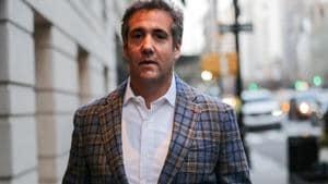 US President Donald Trump's personal lawyer Michael Cohen(Reuters File Photo)