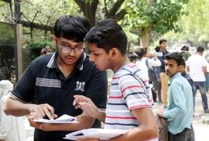 Through this service, several students, especially from rural India, will understand the new format for the test and be at ease.(HT/PICTURE REPRESENTATION)