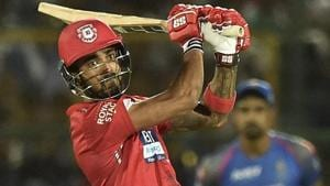 KL Rahul will be key for Kings XI Punjab as they take on Kolkata Knight Riders in the Indian Premier League (IPL) 2018 on Friday.(PTI)