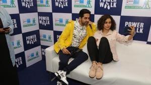Sanya Malhotra will soon be seen with Ayushmann Khuranna in Badhai Ho.(IANS)