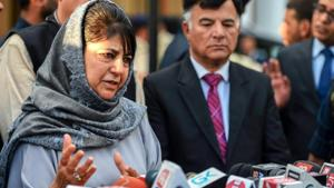 Jammu and Kashmir chief minister Mehbooba Mufti on Saturday asked security forces to ensure a secure and hassle-free environment for people during the Muslim holy month of Ramzan.(PTI File Photo)