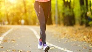 Walking can improve your digestive system, reduce risk of a heart attack, boost mental health.(Shutterstock)