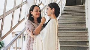 Alia Bhatt posted a picture with mother Soni Razdan, who played her mom in the recently released Raazi.