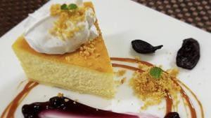 Kokum, Honey and Berry Cheesecake