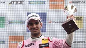 Jehan Daruvala after finishing on the podium in Race 3 of the season opener of FIA Formula 3 European Championship in Pau.(James Gasperotti)