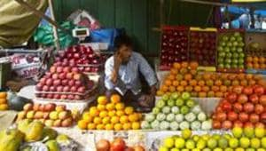 Inflation in the fruit basket was higher at 9.65% compared to 5.78% in the previous month.(AP FIle Photo)