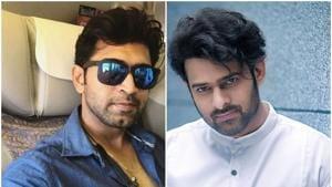 Prabhas starrer Saaho, being directed by Sujeeth, has a host of stars including Shraddha Kapoor, Jackie Shroff, Neil Nitin Mukesh and Arun Vijay.(Arunvijayno1/Instagram | ActorPrabhas/Facebook)