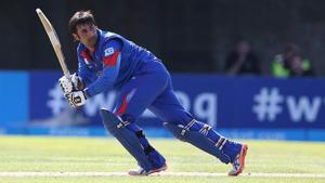 Afghanistan skipper Asghar Stanikzai is confident that his side can give India a strong fight in the one-off Test in Bengaluru next month.(Getty Images)