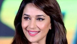 Madhuri Dixit was one of the biggest stars of Hindi films in the 1990s.(PTI)