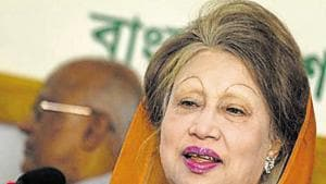 The high court had on March 12 granted interim bail to former Bangladesh PM Khaleda Zia (pictured) in a graft case.(AFP/File Photo)