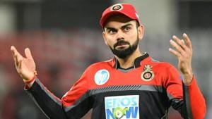 Virat Kohli-led Royal Challengers Bangalore (RCB) have had very little to cheer about in the 2018 Indian Premier League (IPL 2018) with just three wins in 10 games so far.(AFP)