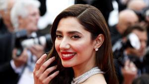 Mahira Khan arrives for the screening of the film BlacKkKlansman in Cannes.(REUTERS)