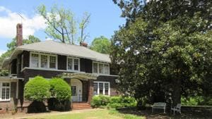 The F. Scott and Zelda Fitzgerald Museum in Montgomery, Ala. Zelda was a Montgomery native and the couple met in 1918 at a Montgomery country club while F. Scott was stationed at a U.S. Army base.(AP)