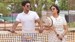 Keerthy Suresh and Dulquer Salmaan as the lead pair in Savitri biopic, Mahanati.