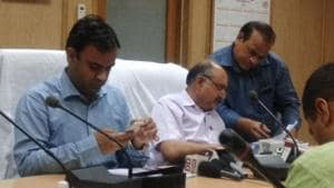 The Board of School Education Haryana (BSEH) declared the Class 12 board examinations results at around on Friday.(Ht photo)