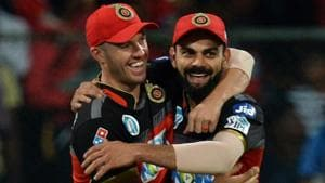 Live streaming of Rajasthan Royals (RR) vs (RCB) Royal Challengers Bangalore, Indian Premier League (IPL) 2018 match at the Sawai Mansingh Stadium, Jaipur was available online. Virat Kohli's RCB lost by 30 runs to be knocked out of the play-off race.(AFP)