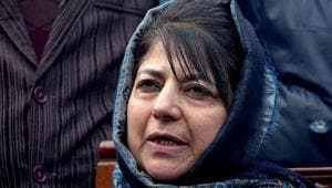 File photo of Jammu and Kashmir chief minister Mehbooba Mufti.(AP Photo)