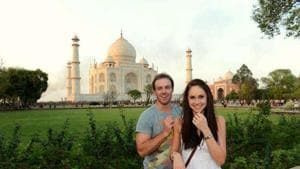 AB de Villiers to name his third child Taj: Here are other celebs who named their kids after India