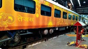 The fitting of aerators was a one-time measure, and they were fitted into the existing taps in Tejas Express.(HT File Photo)