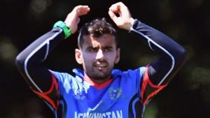 Zahir Khan, who missed the entire Indian Premier League (IPL 2018) because of an injury he picked up during a practice game, is hopeful to be back in action before Afghanistan cricket team's historic first Test against Indian cricket team.(Getty Images)