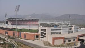 Afghanistan and Bangladesh will play three T20 matches at the cricket stadium in Dehradun.(Vinay Santosh Kumar/HT)