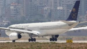 The aircraft circled over Jeddah for several hours as its landing gear failed to drop.(Reuters File Photo/Representative image)