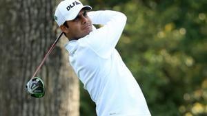 Shubhankar Sharma will join compatriot Anirban Lahiri at the PGA Tour in Fort Worth this week.(AFP)