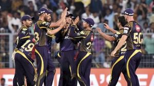 Kolkata Knight Riders prolonged Rajasthan Royals' agony as they defeated them by 25 runs to enter Qualifier 2 where they will meet Sunrisers Hyderabad.(PTI)