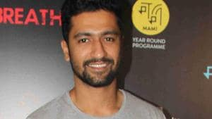 Actor Vicky Kaushal says Alia Bhatt is a wonderful co-star.(Prodip Guha)