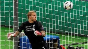 Loris Karius' errors gifted Real Madrid two goals in Champions League final.(REUTERS)