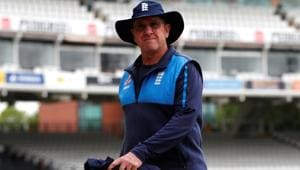 England cricket team coach Trevor Bayliss brushed aside the idea that England indulged in spot-fixing during the Chennai Test vs India in 2016.(Action Images via Reuters)