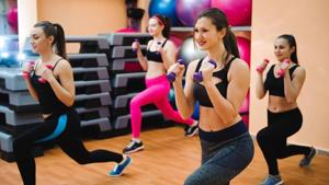 Aerobic exercises are a form of cardio exercise that increase the heart rate, breathing and circulation of oxygen through the blood.(Shutterstock)