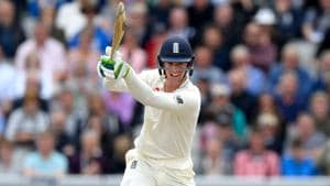 The 25-year-old Keaton Jennings has played six tests for the England cricket team, the last of them in August 2017 against South Africa.(Getty Images)