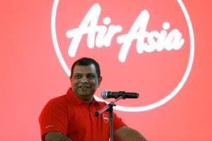 The CBI on Tuesday named AirAsia Group CEO Tony Fernandes (in picture) and others in a criminal case of violating FDI norms in giving effective management to a foreign entity through FIPB clearance in 2013 and attempt to bribe for tweaking rules to get a licence for its joint venture to operate international flights.(Reuters file photo)
