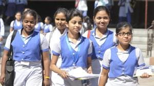 CBSE 10th result: A total of 16,38,420 candidates registered for the Class 10 exam conducted at 4,453 centres across India and 78 centres abroad this year. The results were declared today.(HT file)