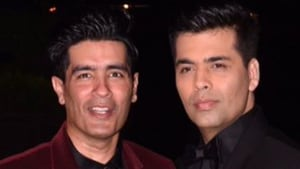 Karan Johar and Manish Malhotra have worked together on several occasions.