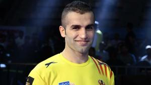 Fazel Atrachali was bought for Rs 1 crore by U Mumba in the Pro Kabaddi League auctions on Wednesday.(Twitter)